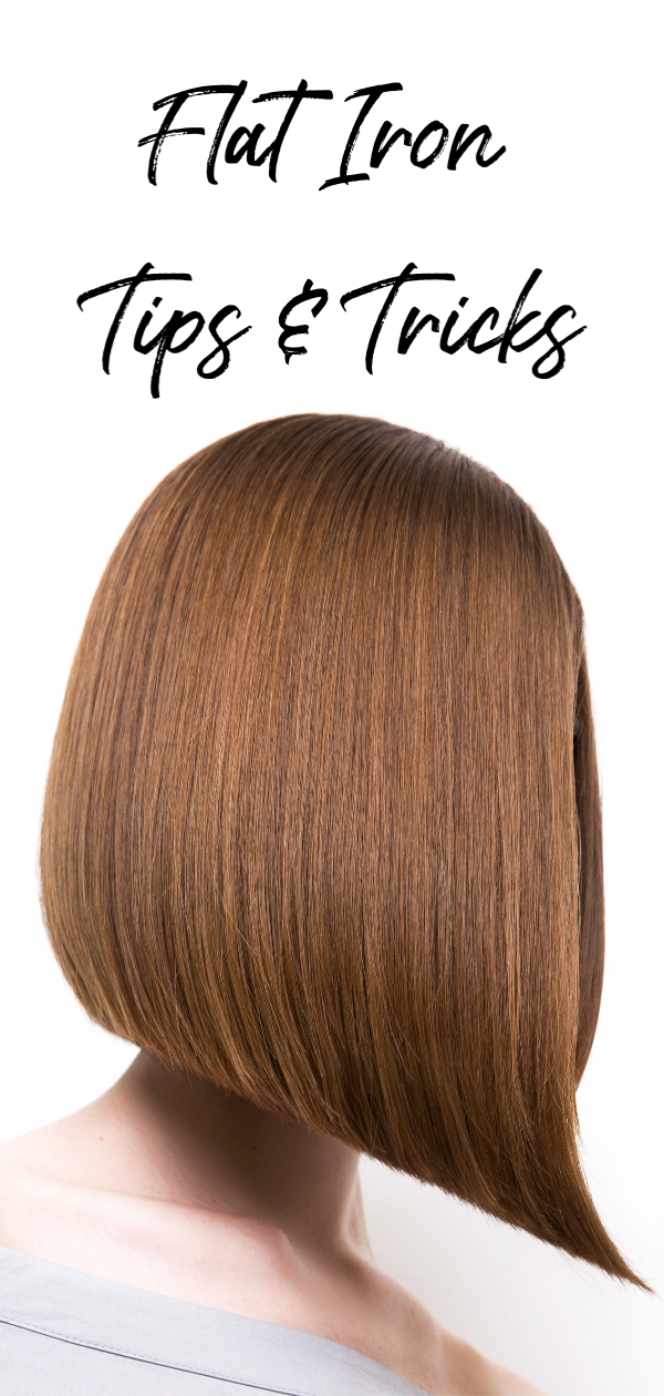 Flat iron tips and tricks #haircare #hairstyles