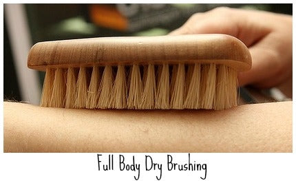 Dry brush your skin. Learn the benefits in our post! #skincare #spa #health #wellness