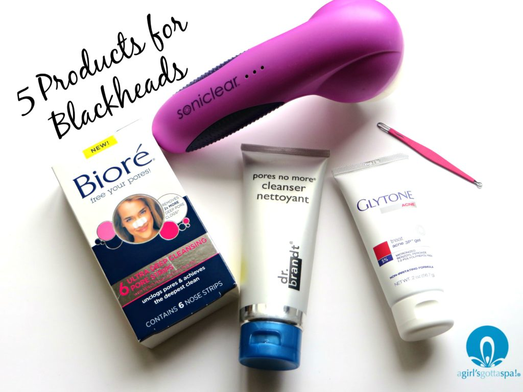 Five beauty products to get rid of blackheads via @agirlsgottaspa