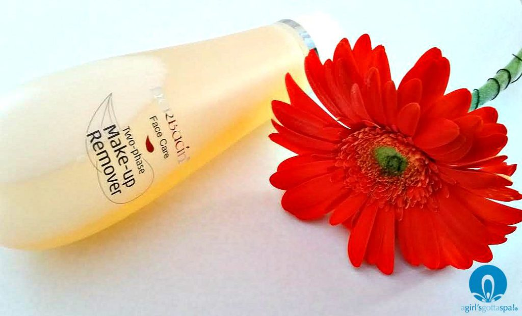 Herbacin Two-Phase Make-up Remover Review via @agirlsgottaspa