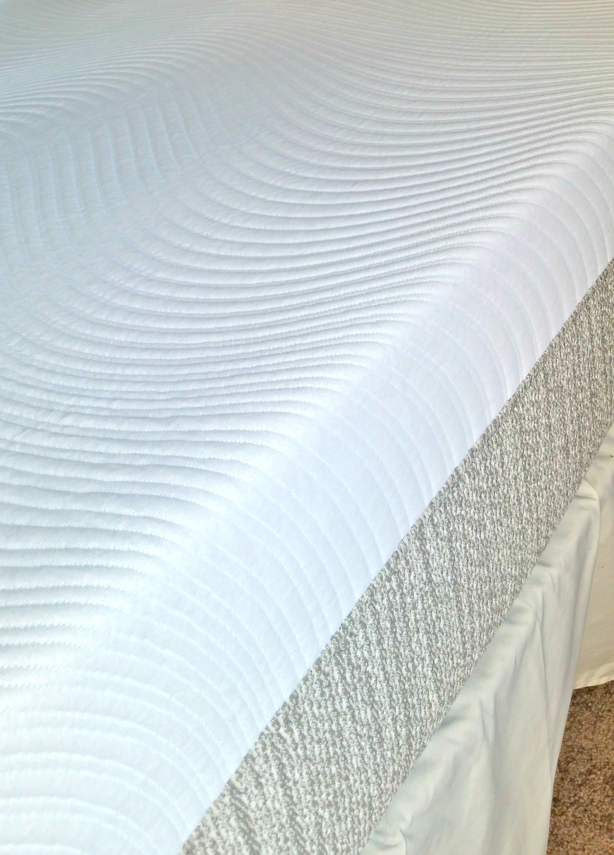 We reviewed a hybrid mattress and have a promo code for it! via @agirlsgottaspa #sleep