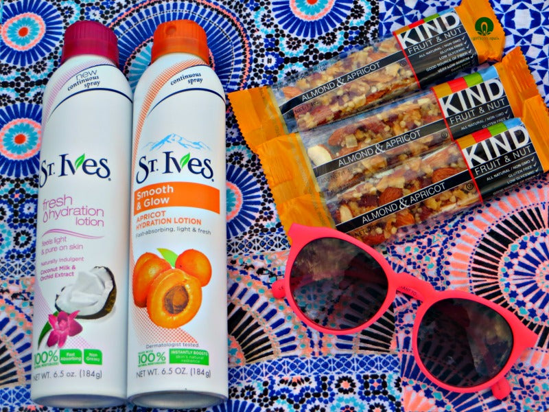 @StIvesSkin Continous Spray review via @agirlsgottaspa #LiveRadiant'y #spon