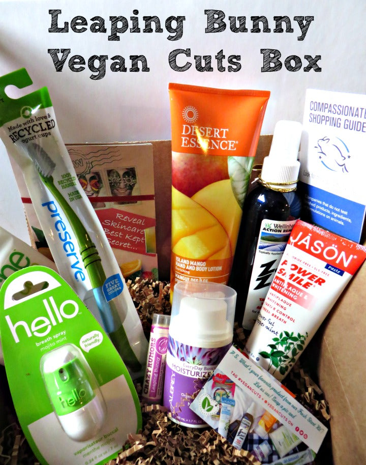 @vegancuts @leapingbunny Fresh Start Kit #review via @agirlsgottaspa