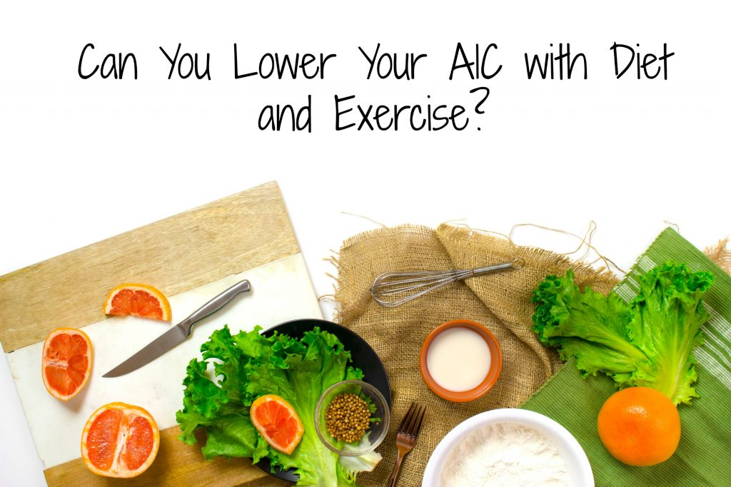 Can you lower your A1C with diet and exercise? Full article via @agirlsgottaspa