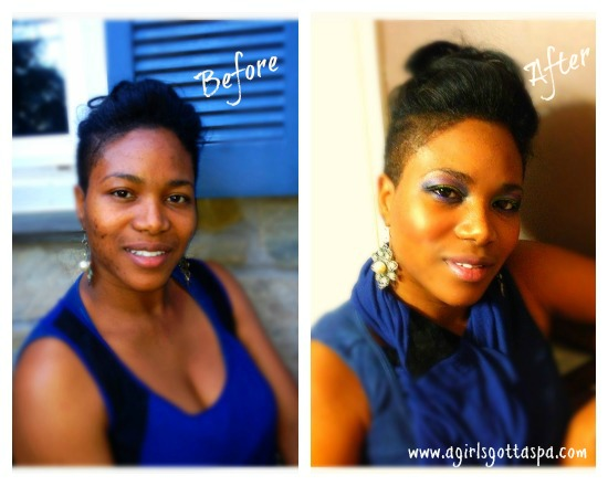 Makeover Before and After (Sherona)