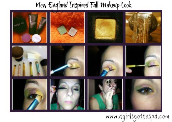 New England Inspired Fall #Makeup Look