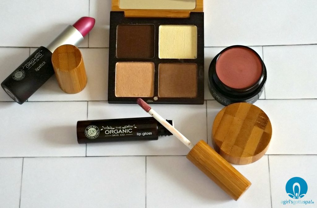 Organic makeup from New Zealand - The Organic Skin Co review via @agirlsgottaspa