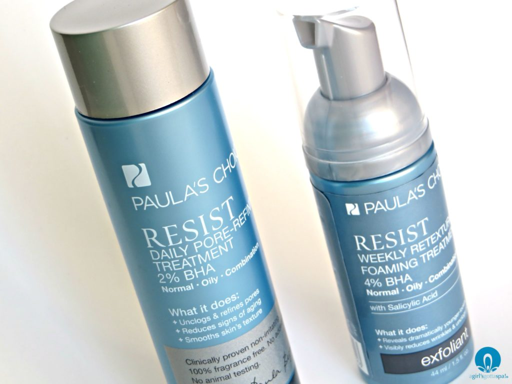 Customize your skin care routine with @PaulasChoice - full review on @agirlsgottaspa #PaulasChoiceSkinCare