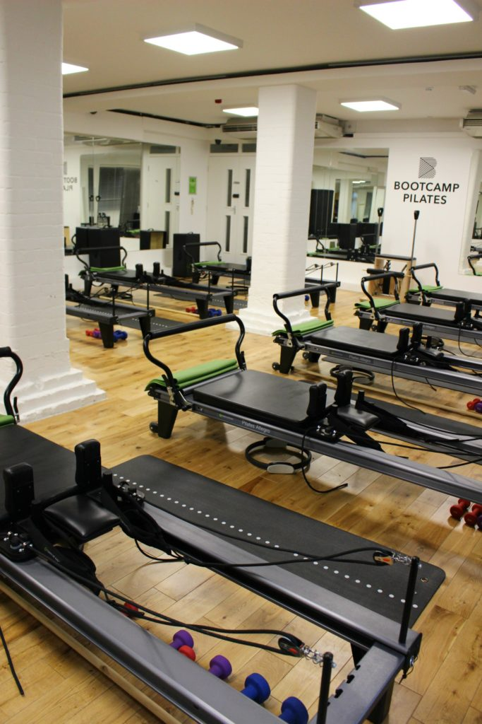 Pilates studios in London - Bootcamp Pilates via @agirlsgottaspa