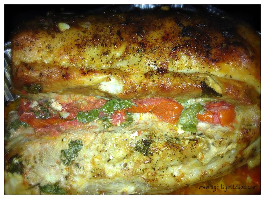 Tomato Herb Stuffed Pork #Recipe #foodie #cooking