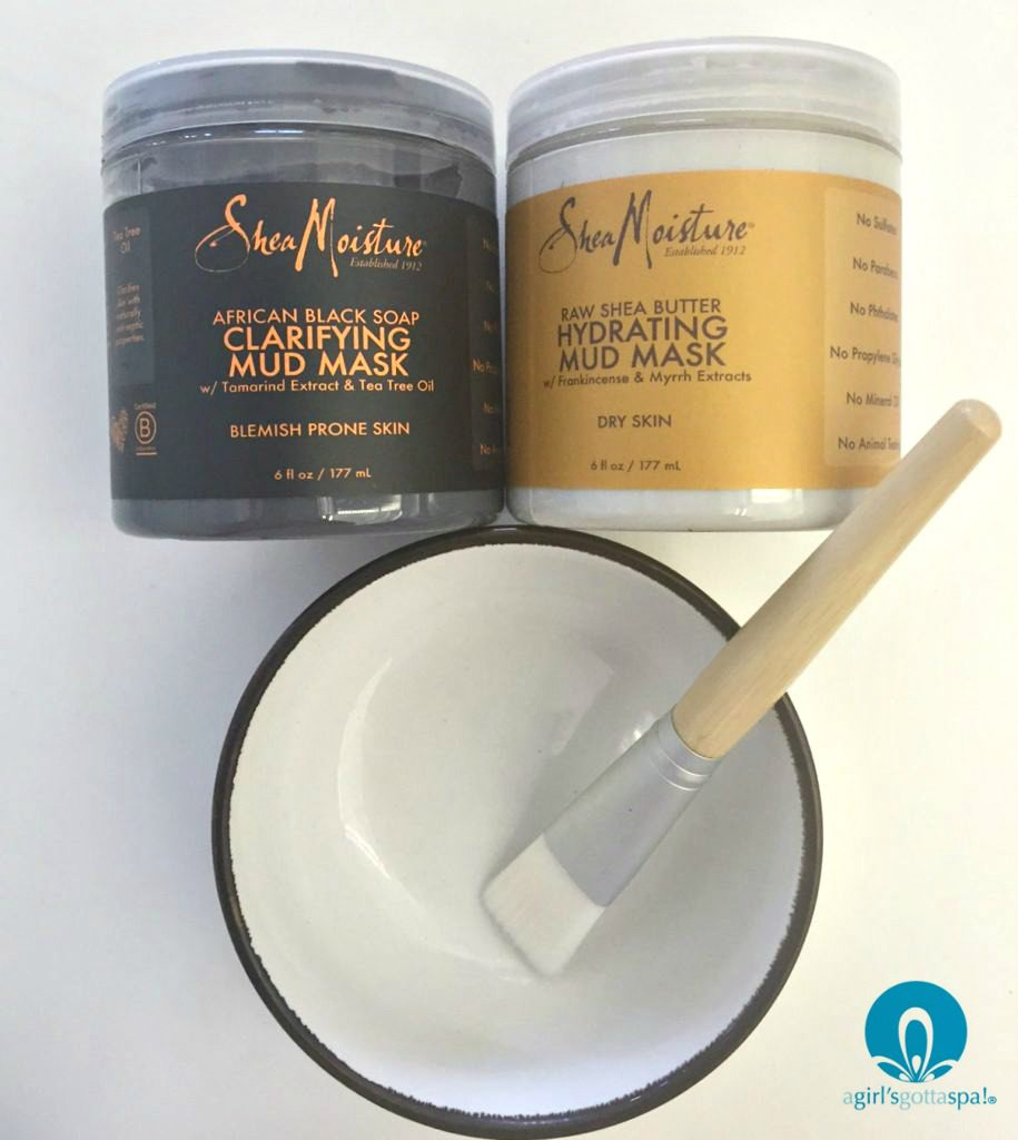@sheamoisture masks review via @agirlsgottaspa