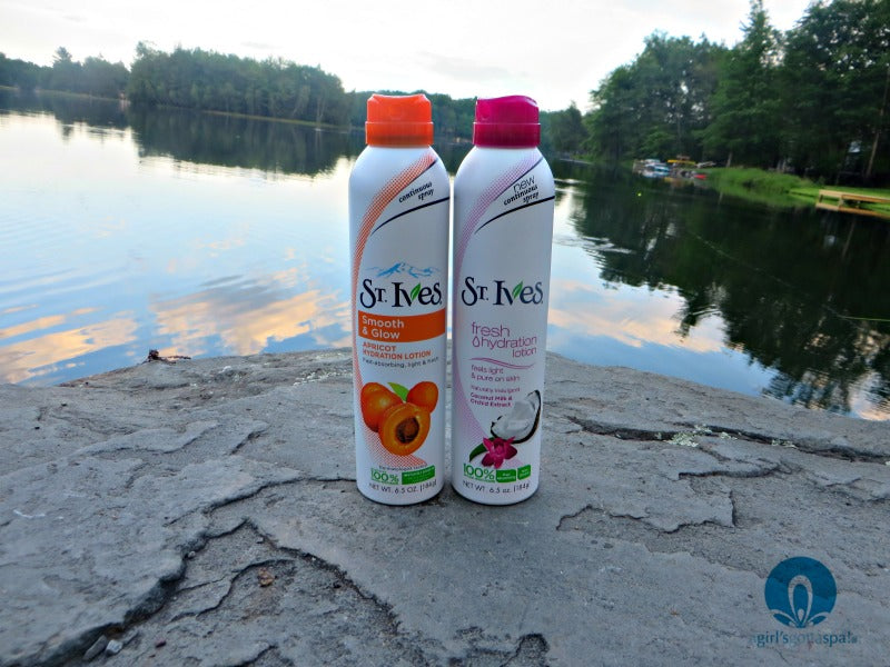 @StIvesSkin Continous Spray review via @agirlsgottaspa #LiveRadiantly #spon