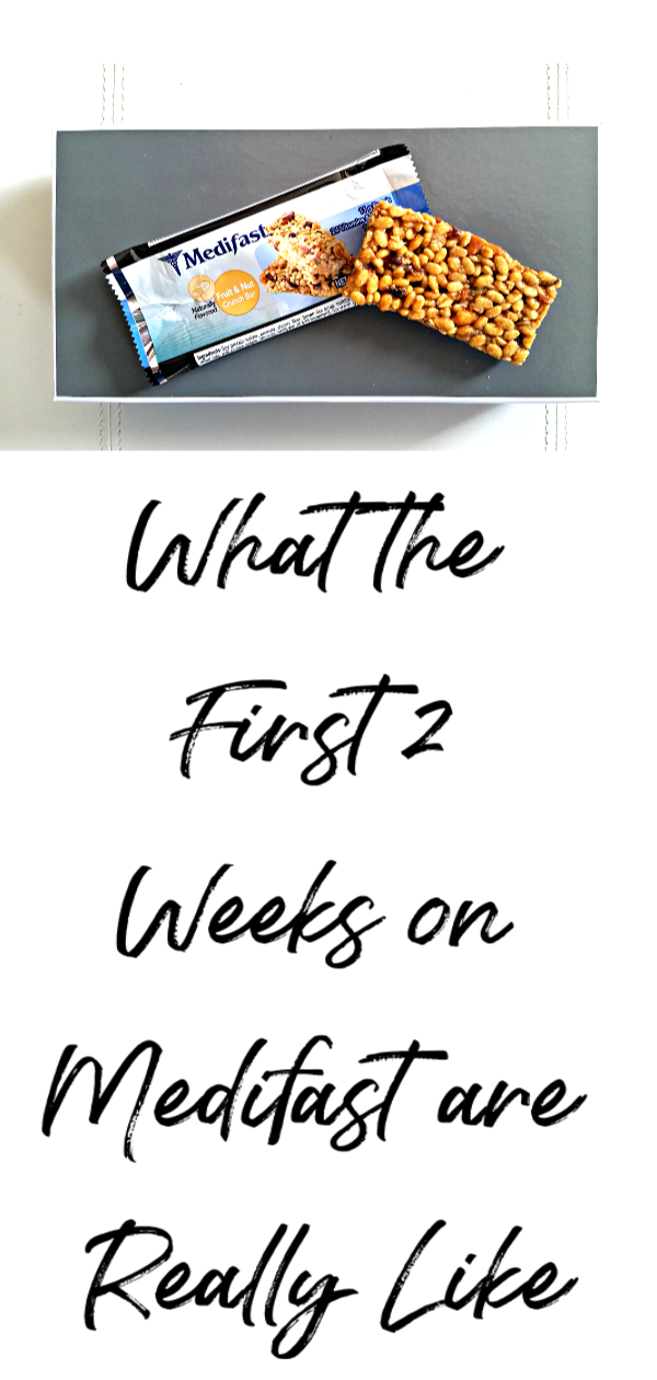 Wondering what the first two weeks on Medifast are really like? We give you honest answers. #medifast #diet #weightloss