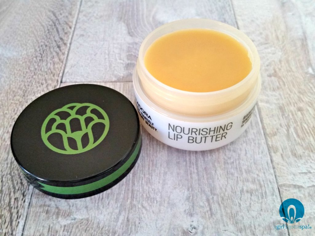 Teadora Nourishing Lip Butter review via @agirlsgottaspa