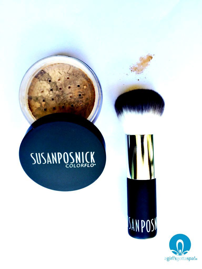 Susan Posnick COLORFLO Mineral Foundation review via @agirlsgottaspa