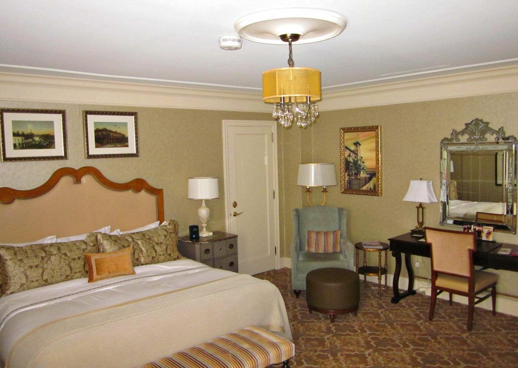 The Hotel Hershey luxe appointed King Suite