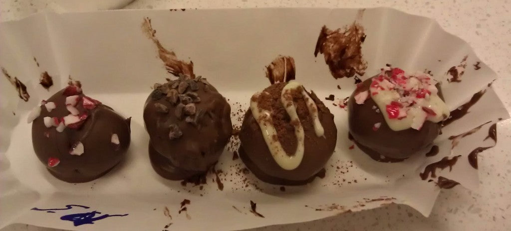 Chocolate Truffles at The Chocolate Lab in Hershey, PA.