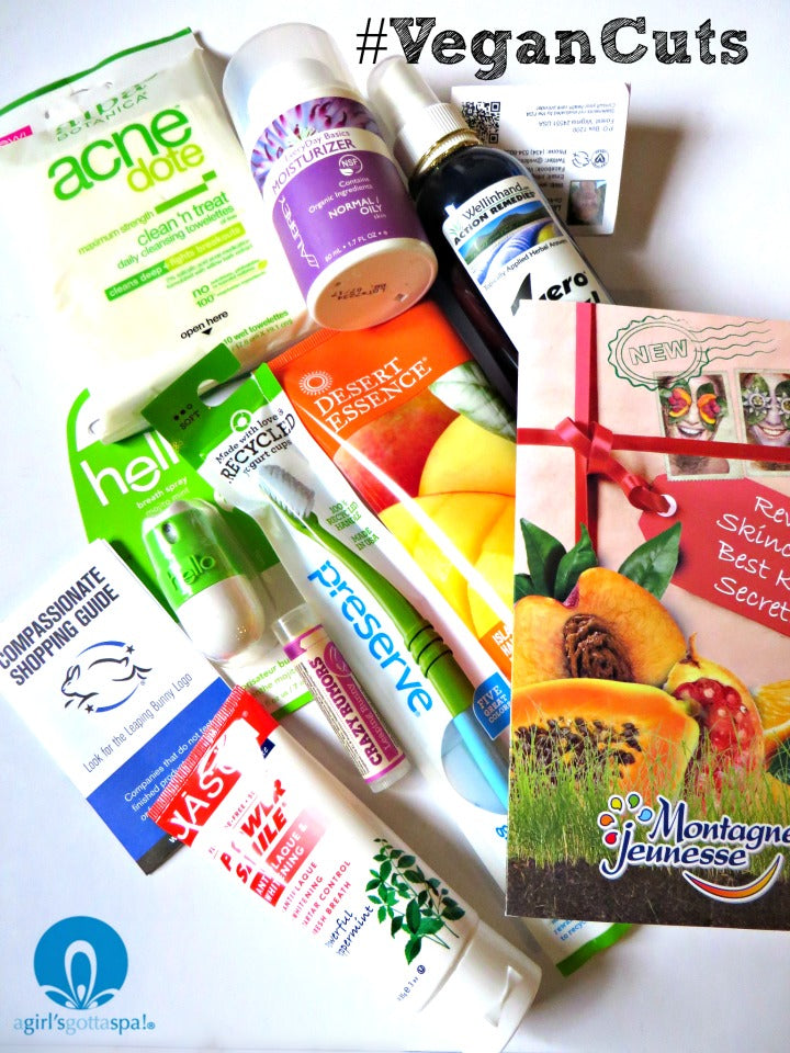 Leaping Bunny Fresh Start Kit @vegancuts @leapingbunny via @agirlsgottaspa
