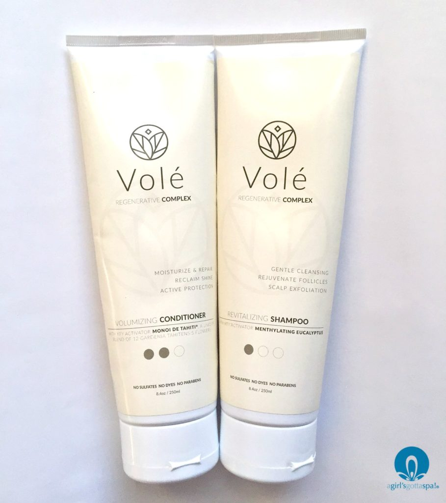 Vole Hair Care System review plus 20% off promo code via @agirlsgottaspa