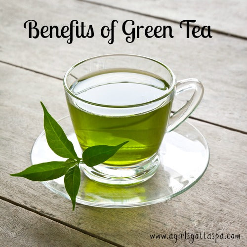 Read about the benefits of green tea for #health and #skincare