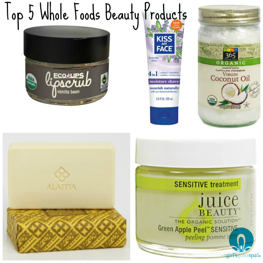 Top 5 beauty products from @wholefoods via @agirlsgottaspa