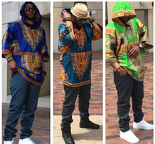 Load image into Gallery viewer, Unisex Dashiki Hoodies (Assorted Dozen)