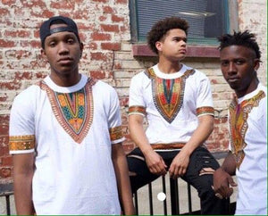 Adult Dashiki T-Shirts (Assorted Dozen)