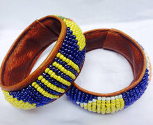 Load image into Gallery viewer, Leather Maasai Bracelets (Assorted 20pcs)