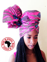 Load image into Gallery viewer, Ankara Headwraps (Assorted 20pcs)