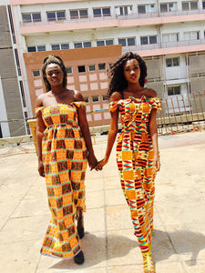 Ankara/Kente Tube Dresses (Assorted Dozen)