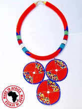 Load image into Gallery viewer, Massai Rope & Pendant Necklaces (Assorted 12pcs)