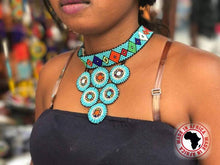Load image into Gallery viewer, Massai Choker Necklaces (Assorted Dozen)