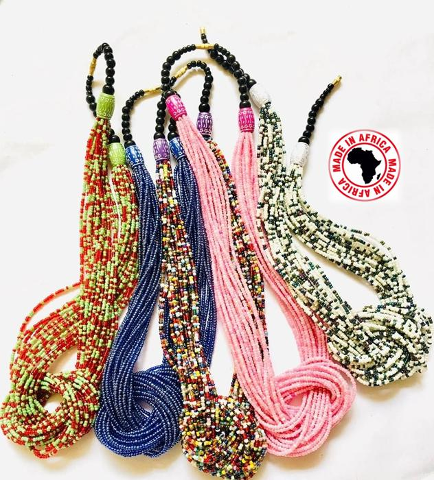 Beaded Pendant Necklaces (Assorted Dozen)
