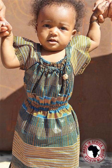 Baby Girls Ankara Dresses (Assorted 20pcs)
