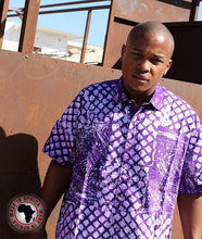 Load image into Gallery viewer, Ankara Button-Up Tops (Assorted Dozen)