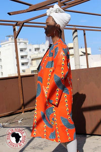 Ankara Long Coats (Assorted Dozen)
