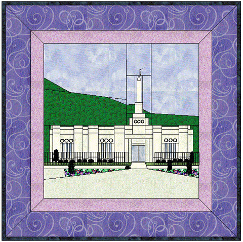 Baton Rouge Louisiana Temple Hard Copy Pattern