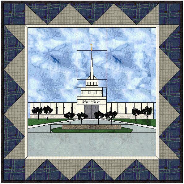 Billings Montana Temple Hard Copy Pattern
