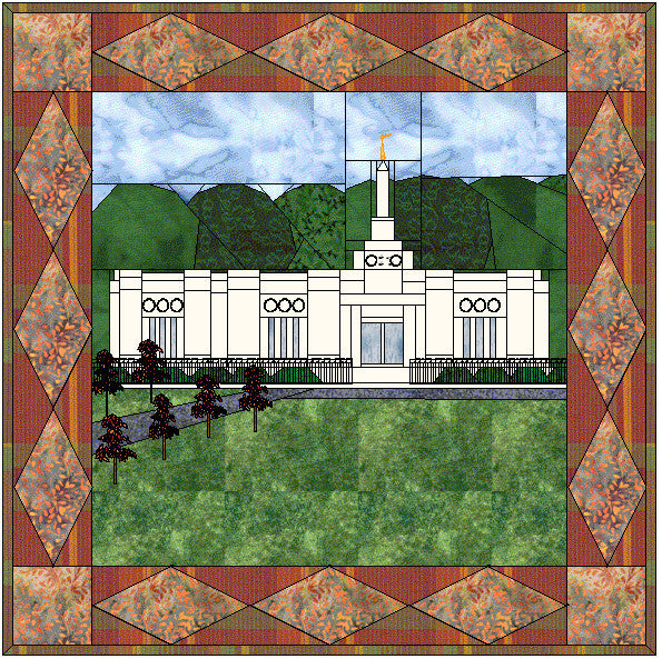 Birmingham Alabama Temple Hard Copy Pattern