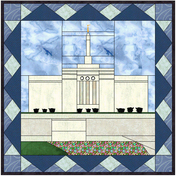 Bismarck North Dakota Temple Hard Copy Pattern