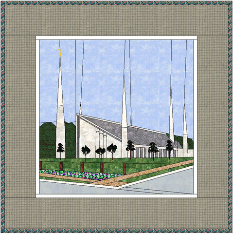 Chicago Illinois Temple Hard Copy Pattern