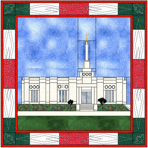 Ciudad Juarez Mexico Temple Hard Copy Pattern
