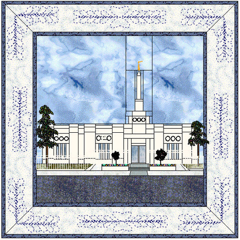 Columbia South Carolina Temple Hard Copy Pattern
