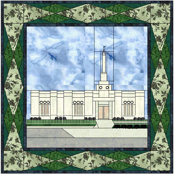 Columbus Ohio Temple Hard Copy Patterns