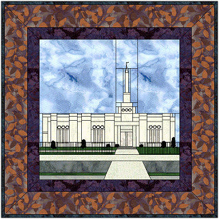 Fresno California Temple Hard Copy Pattern