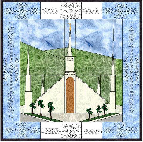 Guatemala City Guatemala Temple Hard Copy Pattern