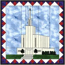 Hamilton New Zealand Temple Hard Copy Pattern