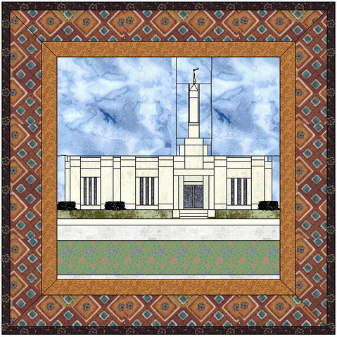 Hermosillo Mexico Temple Hard Copy Pattern