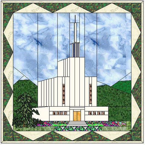 Bern Swiss Temple Hard Copy Pattern