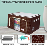 Fabric Stainless Steel Frame, Collapsible Storage Box